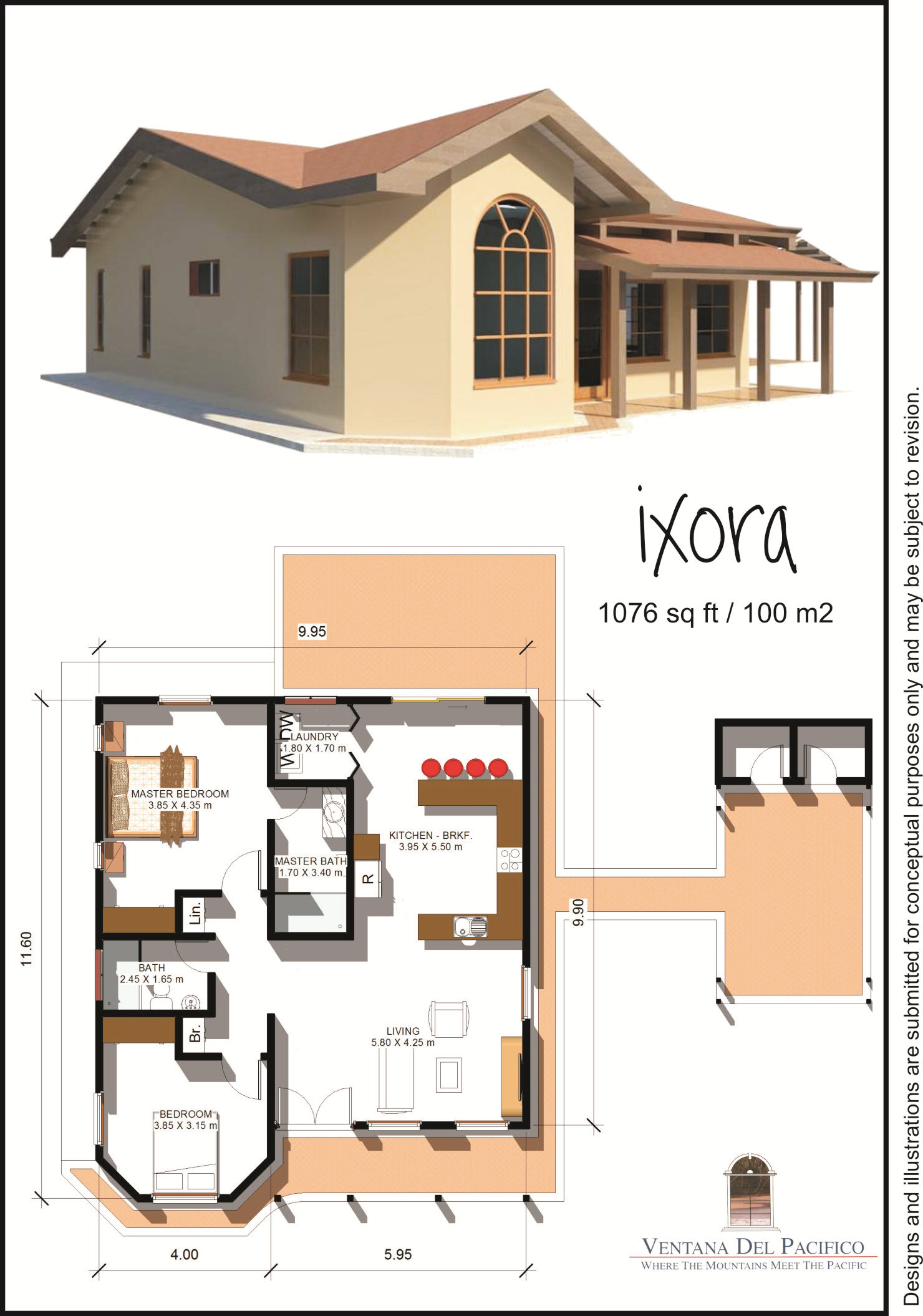 Terrific 100 sq meter house plan photos ideas house for Best house design for 100 square meter lot