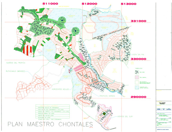 Chontales Site Plan - Costa Rica Real Estate Properties