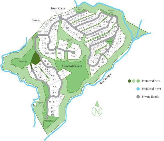Phase 10 Site Plan - Costa Rica Real Estate Properties
