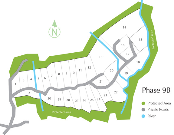 Phase 9B Site Plan - Costa Rica Real Estate Properties